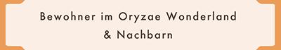World of Oryzae Wonderland